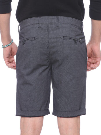 CHECKED FIXED WAIST SMART CASUAL