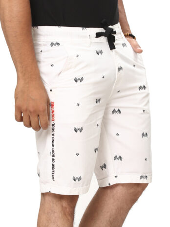 SMART PRINTED URBAN SHORTS