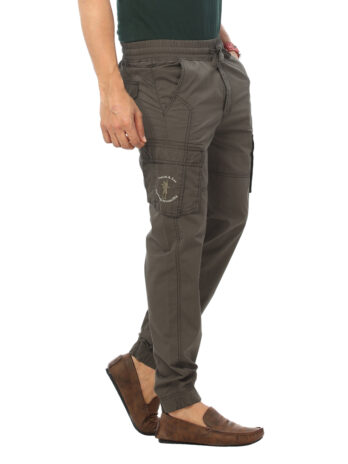 CARGO JOGGERS WITH ELASTICATED DRAWCORD
