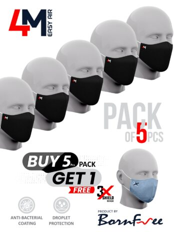 4M Easy Air Reusable Mask