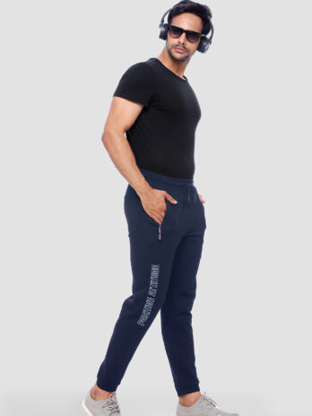 Solid Colour Mens Essential Joggers