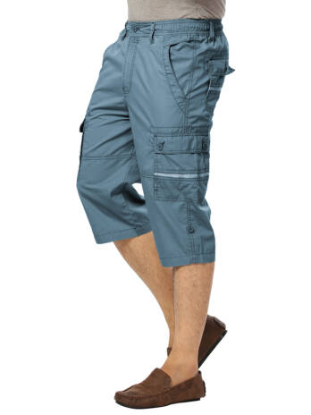 MEN'S 100% Cotton Three Fourth WITH ELASTICATED DRAWSTRING.